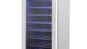 AKDY AZ-EA44EC-75 Electric Wine Cooler Single Zone-32 Bottle