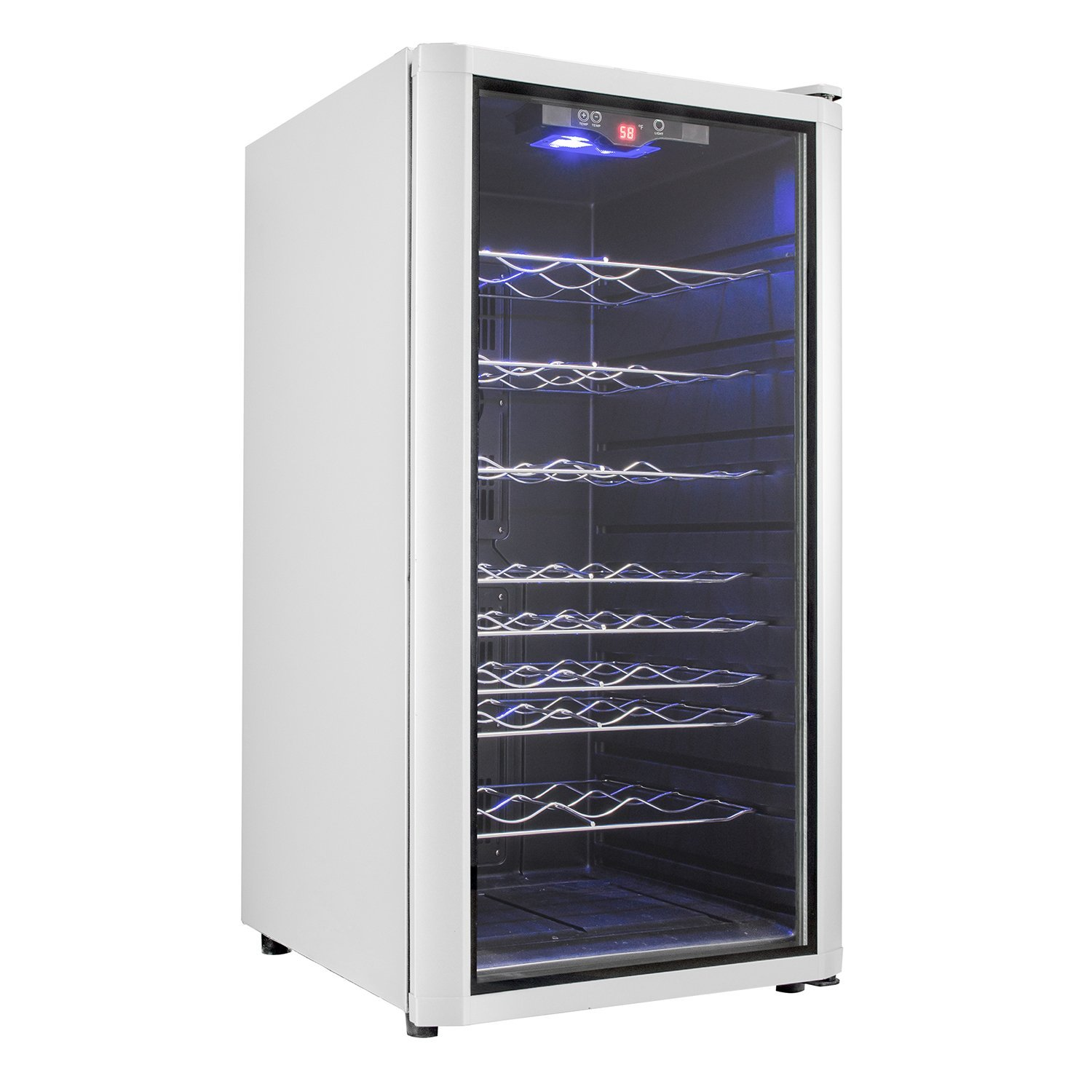 Akdy Az31ec Electronic Wine Cooler Adjustable Control 32