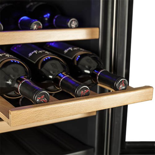 Koldfront TWR247ESS Dual Zone Wine Cooler-24 Bottle