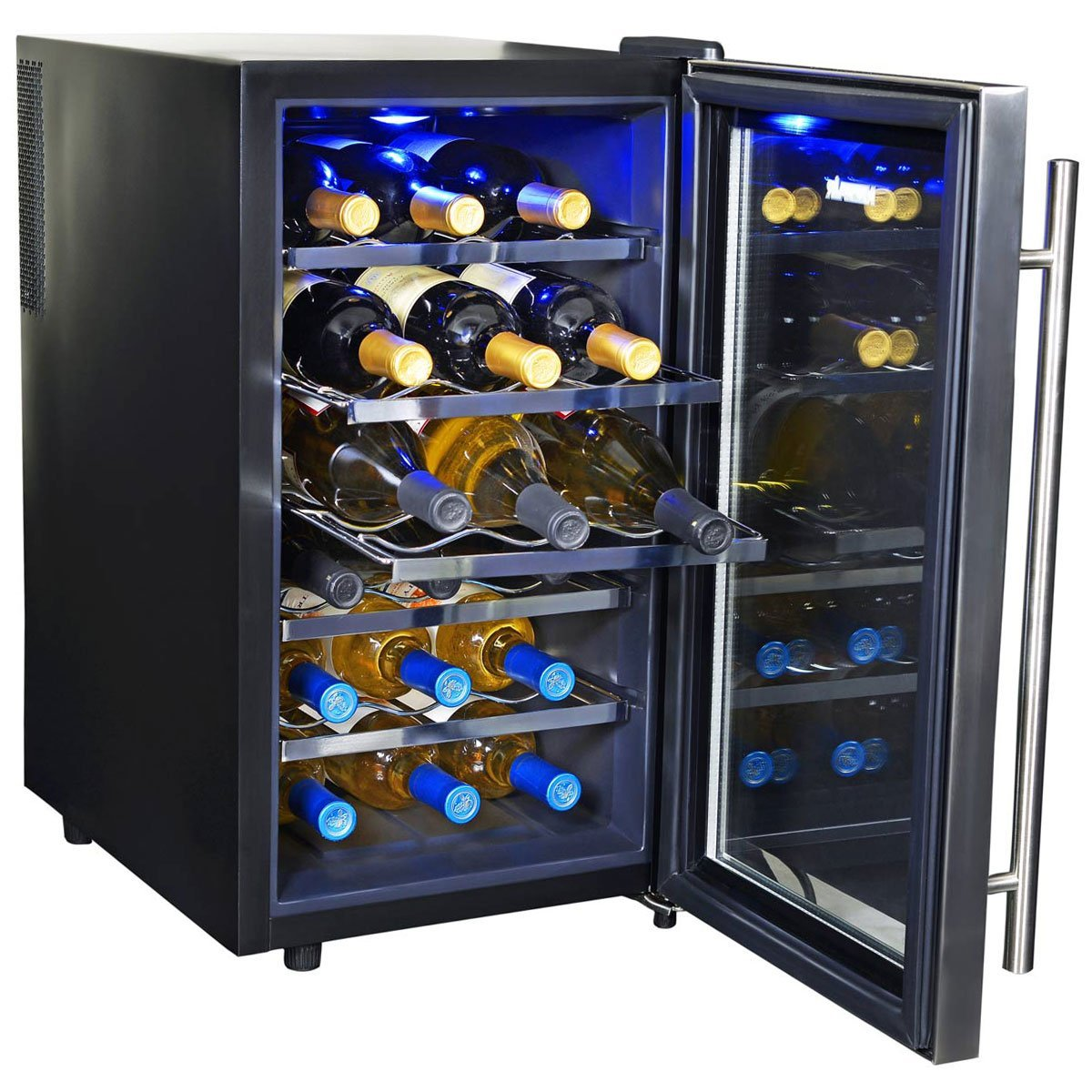 NewAir 18 Bottle Thermoelectric Wine Cooler-AW-181E