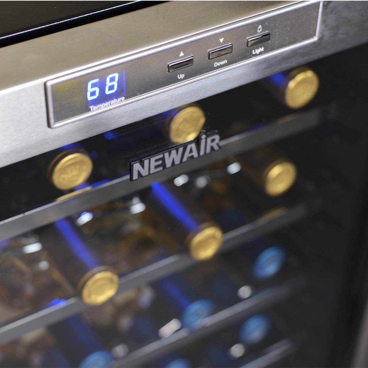 NewAir 28 Bottle Thermoelectric Wine Cooler-AW-281E