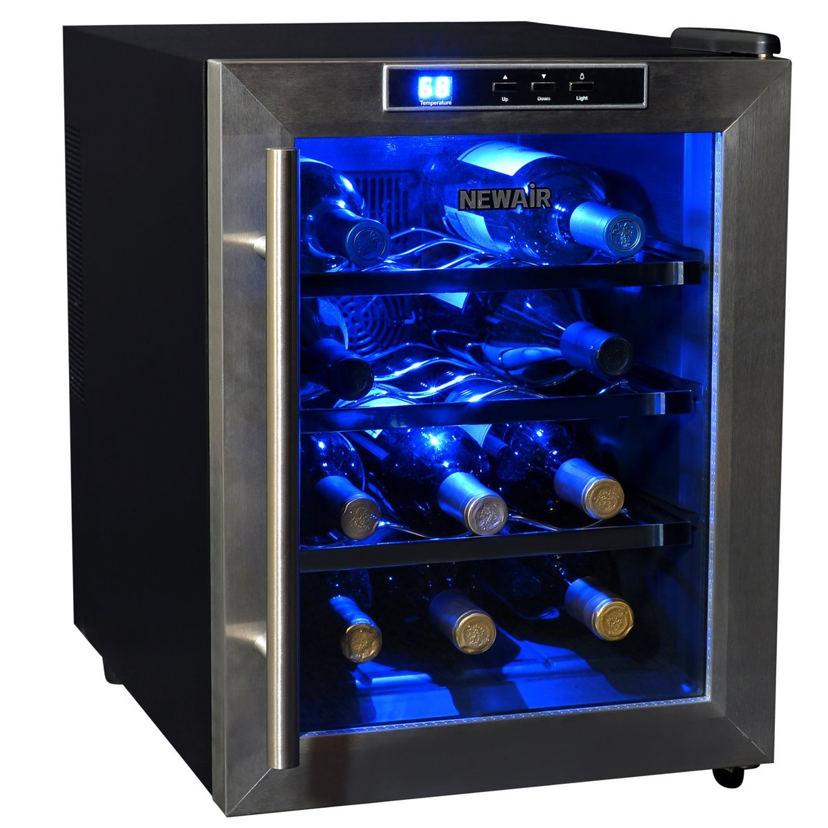 refrigerator countertop wine steel counter bottle com amazon dp stainless cooler top appliances kalamera