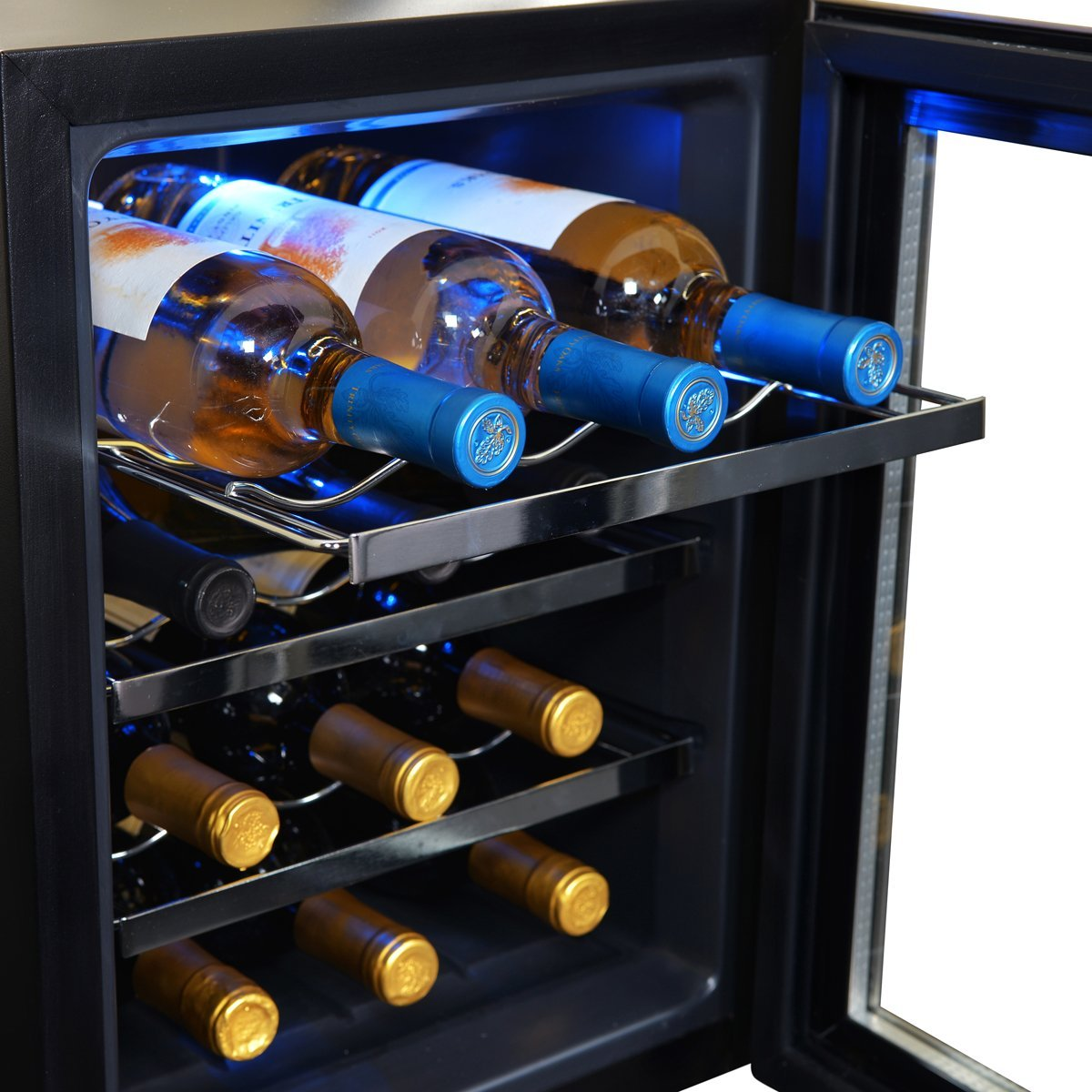 NewAir AW-121E Thermoelectric Wine Cooler-12 Bottle