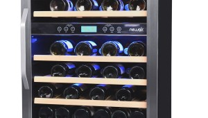 NewAir AWR-460DB Dual Zone Compressor Wine Cooler-46 Bottle