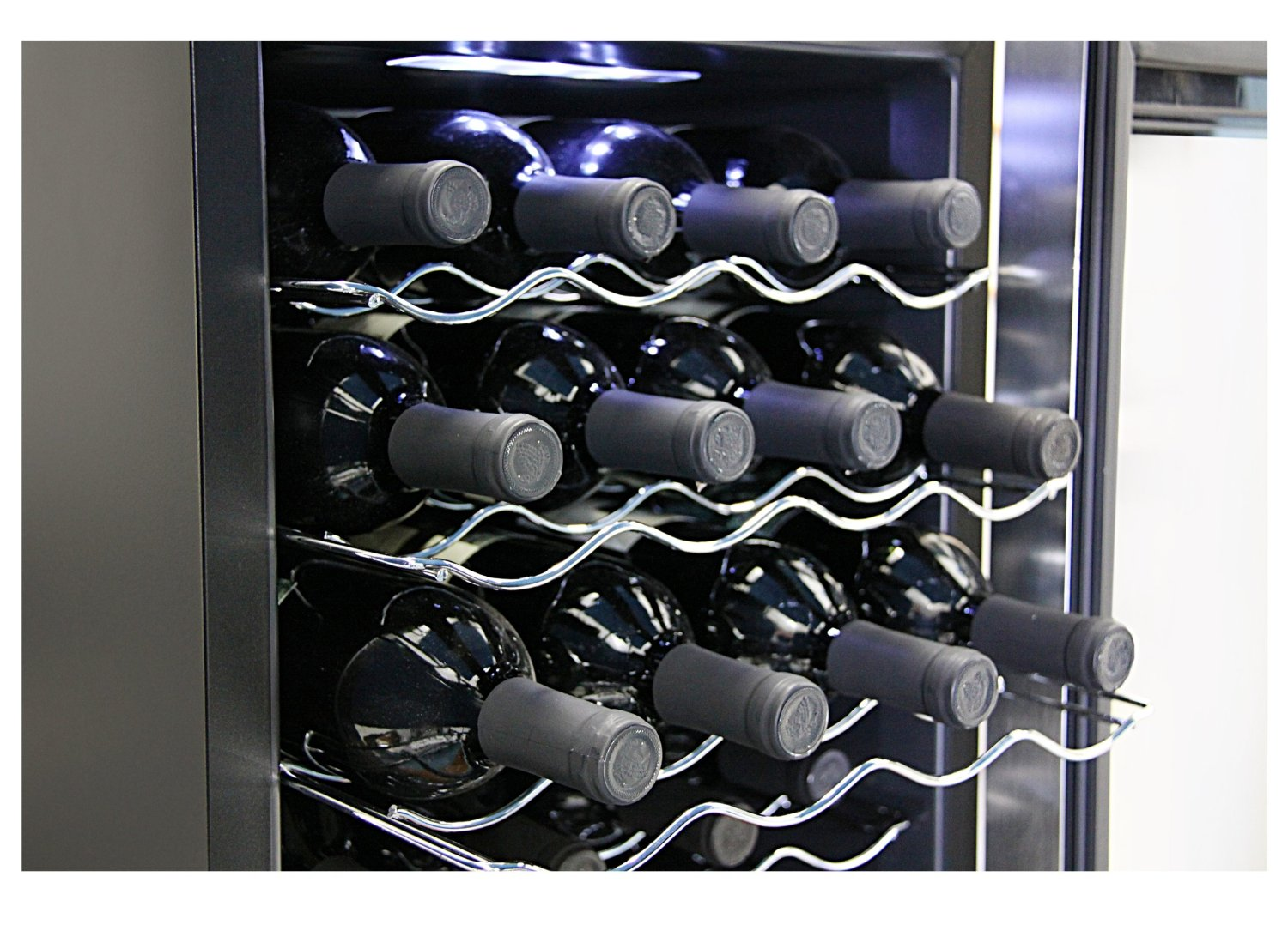 Whynter 20 Bottle Thermoelectric Wine Cooler-WC-201TD