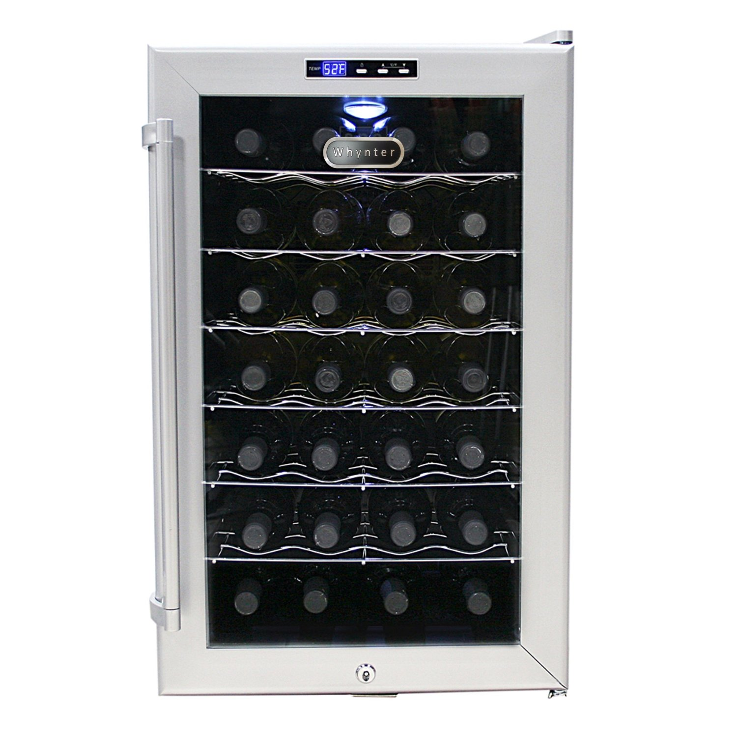 Whynter WC28S SNO Wine Cooler-28 Bottles