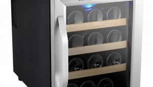 Kalamera 12 Bottle Counter Top Stainless Steel Wine Cooler