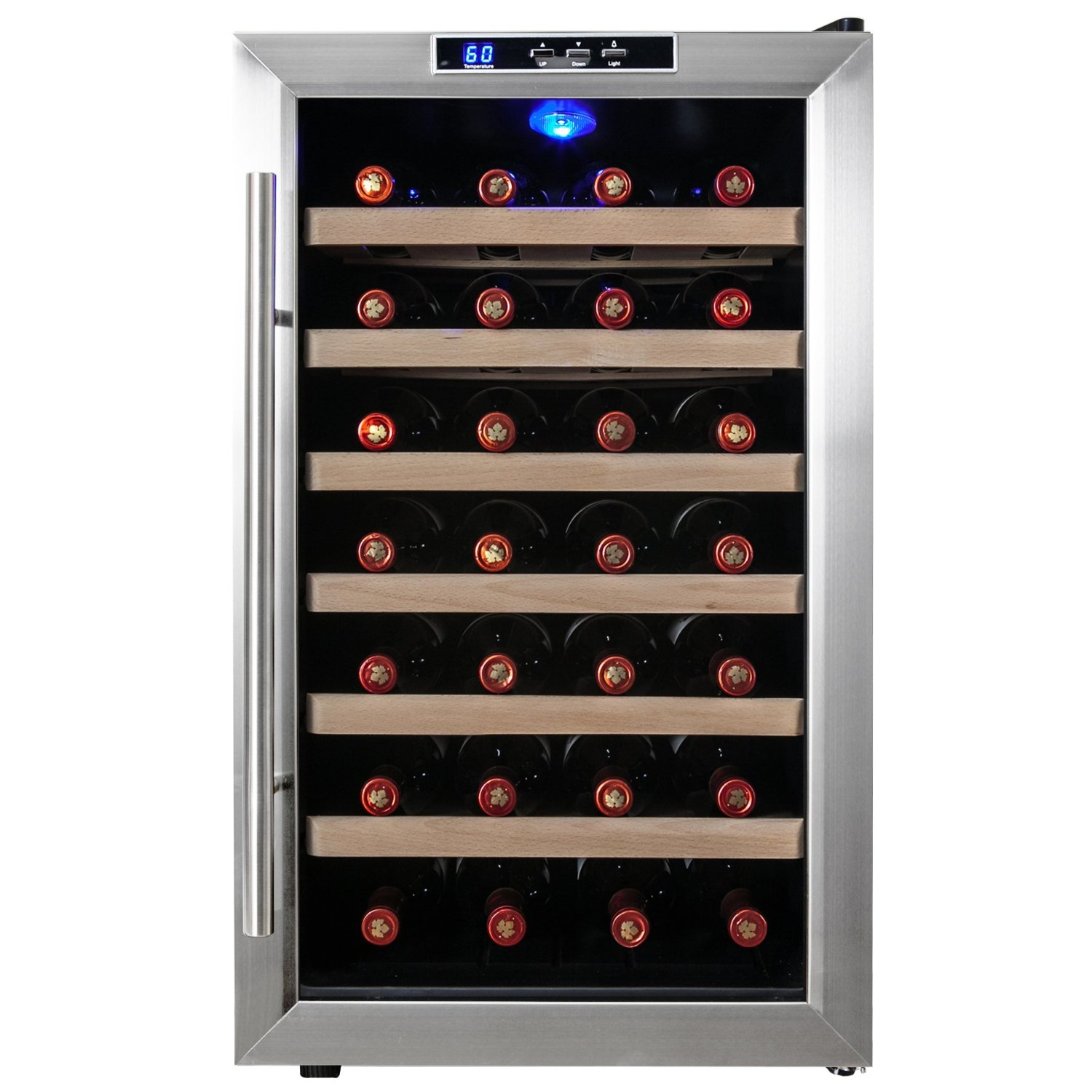 Firebird New 28-bottle Thermoelectric Wine Cooler-WC0016