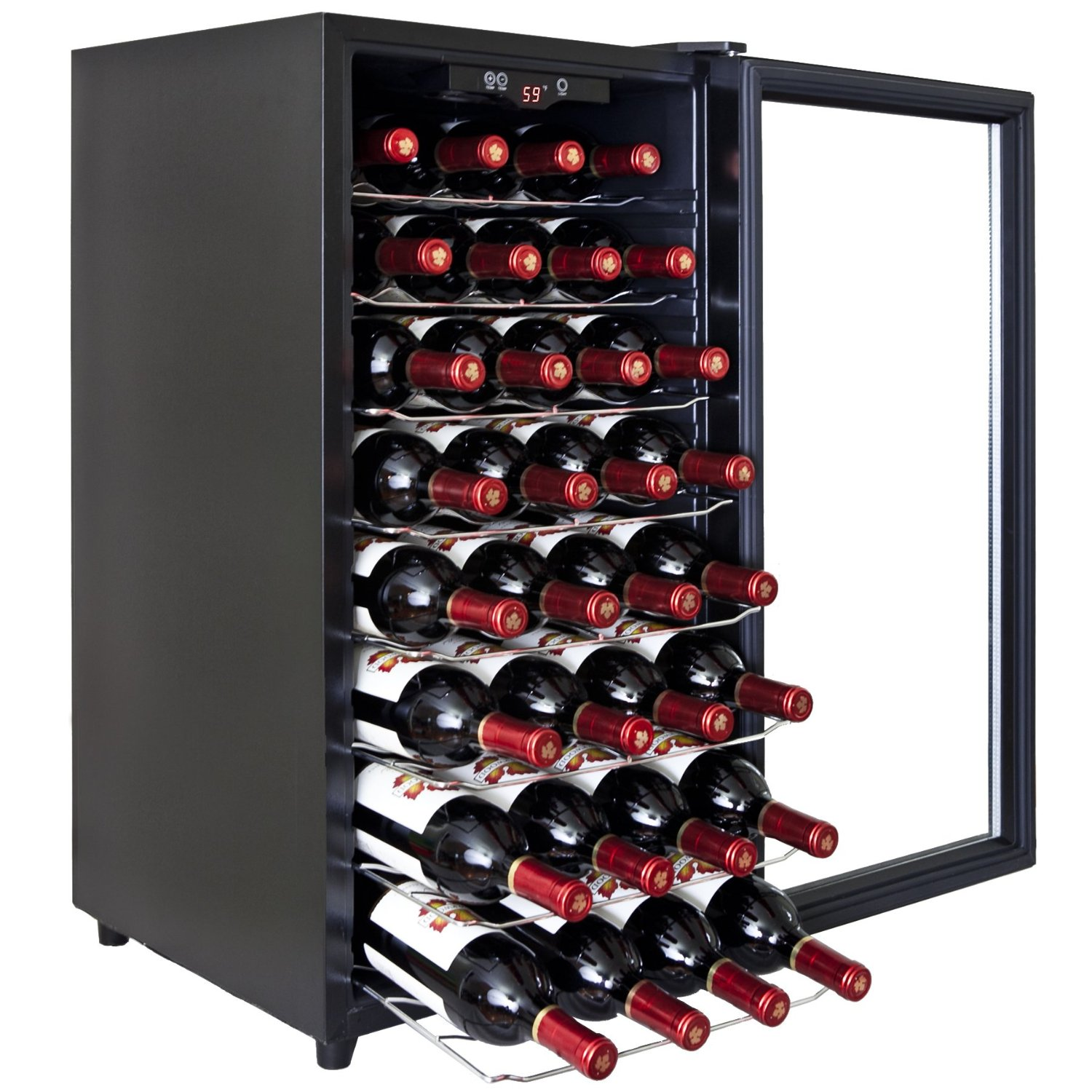 BTL-AZ-ea45ec-75 Electric Single Zone Wine Cooler-32 Bottle