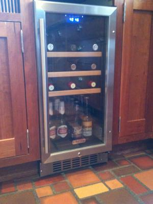 EdgeStar Under Counter 30 Bottle Wine Cooler