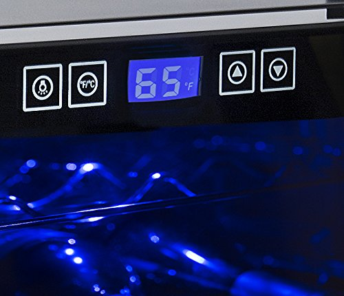 Wine Enthusiast 8 Bottle Touchscreen Wine cooler