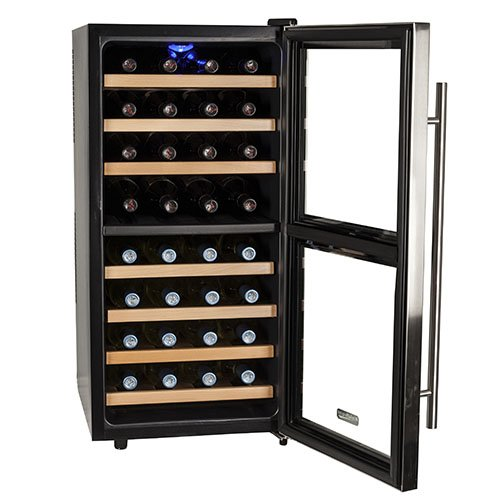 Koldfront  Free Standing Dual Zone-32 Bottle