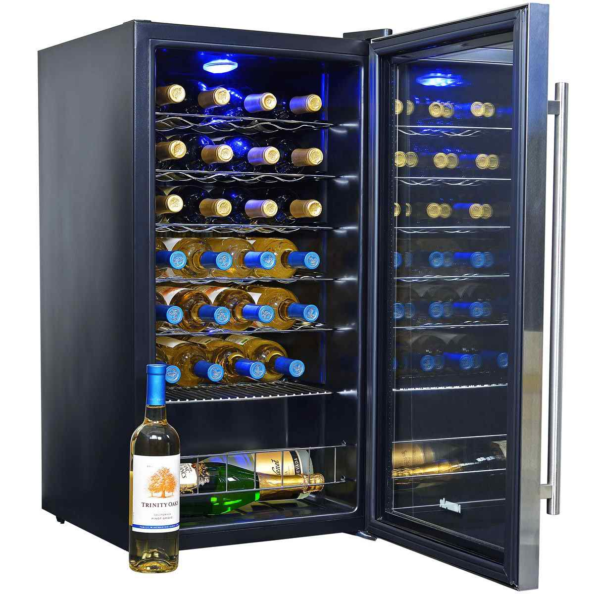 NewAir AWC-270E Compressor Wine Cooler 27-Bottle