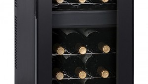 HOMEIMAGE HI-18T Dual Zone Thermoelectric Wine Cooler-18 Bottles