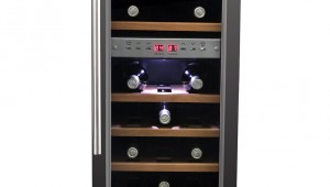 HOMEIMAGE HI-27SS DUAL-ZONE Thermoelectric Wine Cooler-27 Bottles