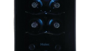 Haier- 6-Bottle -Wine -Cooler- with -Electronic- Controls