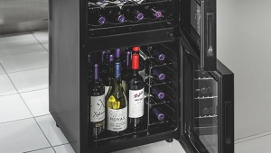 Wine Enthusiast Dual-zone Wine Cooler-24 bottle