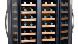 best wooden rack thermoelectric wine cooler