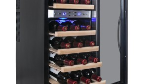 AKDY 21 Bottle Dual Zone Thermoelectric Wine Cooler