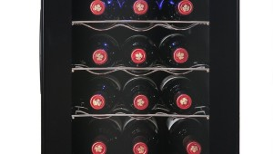 AKDY Single Zone Thermoelectric 12-Bottle Wine Cooler